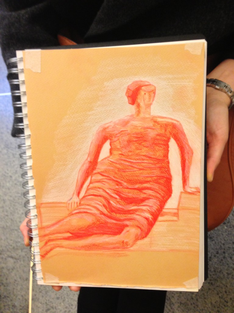 Learn to draw like Justyna Rezler at the Tate Britain