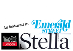 Sketchout as featured in Emerald Street and Time Out London