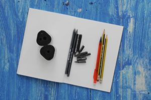 "Drawing Competition for August – ""A Cup in Graphite"""